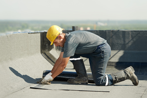 services commercial re-roofing